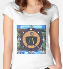 The Druid Mandala Women's Fitted Scoop T-Shirt