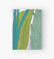 Colorful leaves forest Hardcover Journal