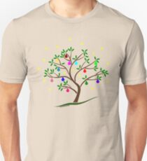 Colour Me Christmas Tree Baubles T-Shirt