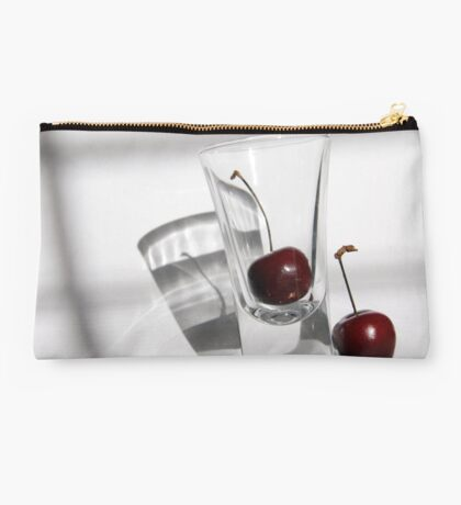Refracted Cherry Studio Pouch