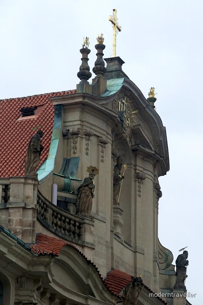 Traditional church in Prague by moderntraveller