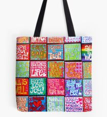 Collection Of Thoughts - Rectangle Tote Bag