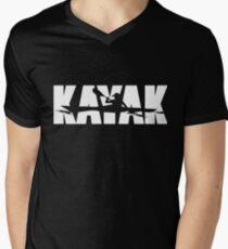 b3a95be5 Kayak - Big bold and eye catching V-Neck T-Shirt