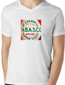 Tabasco Mens V-Neck T-Shirt