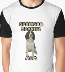 English Springer Spaniel Mom Mother Graphic T-Shirt