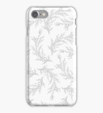 Leaves and branches pattern iPhone Case/Skin