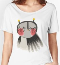 Rosy cheeks owl Women's Relaxed Fit T-Shirt