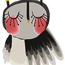 Rosy cheeks owl by annieclayton