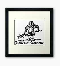 I always wanted to use that spell! Framed Print