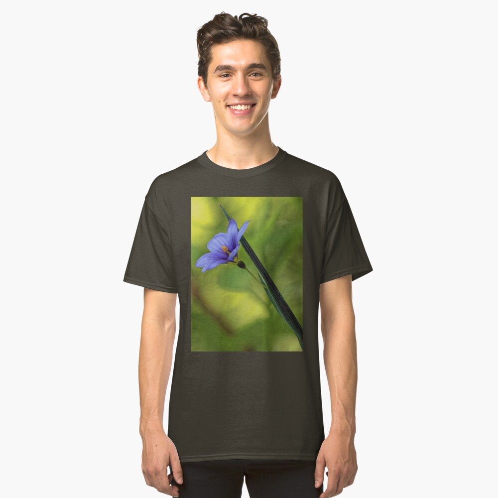 --Blue-Eyed Grass Classic T-Shirt Front