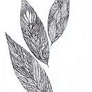 leaf tangle trio by Vickie Simons