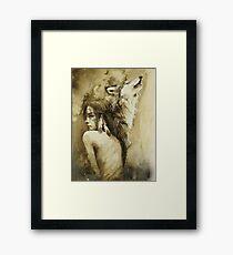 She Wolf Framed Print