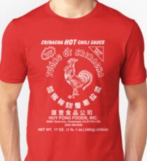 Sriracha Hot Chili Sauce Slim Fit T-Shirt