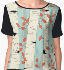 In the Birch Trees Chiffon Top