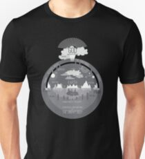 Ancient Hebrew Firmament Flat Earth Unisex T-Shirt