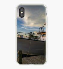 Sunset Mooring  iPhone Case