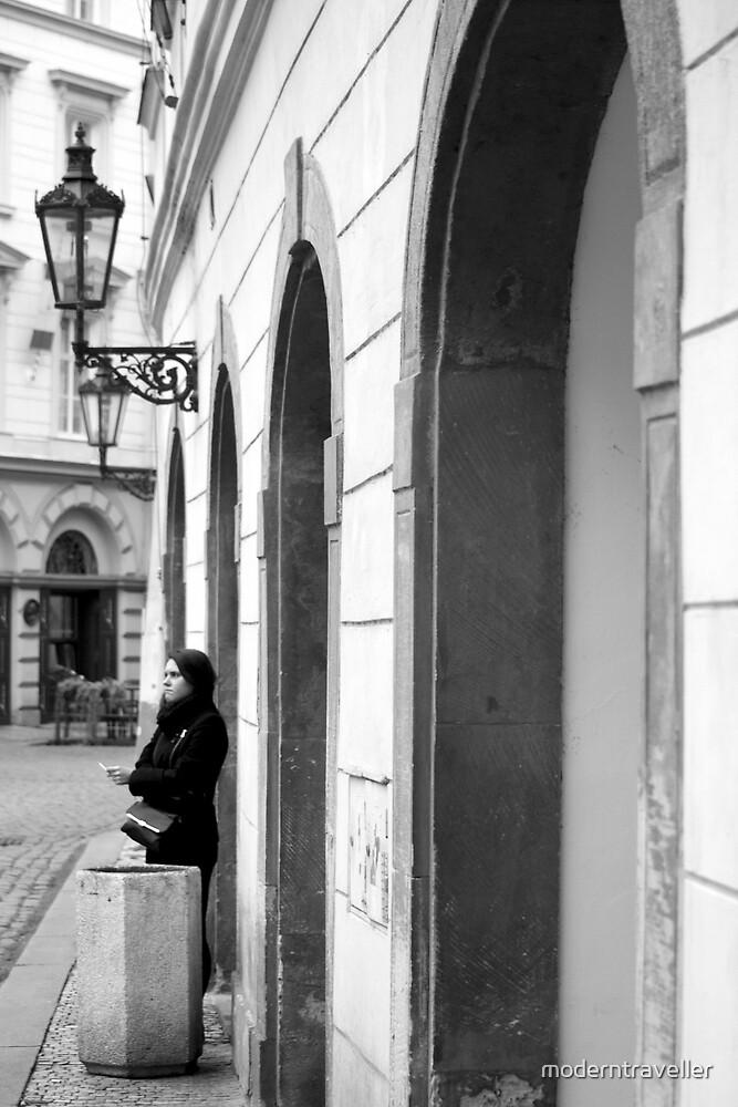 Monochrome moment in Prague by moderntraveller