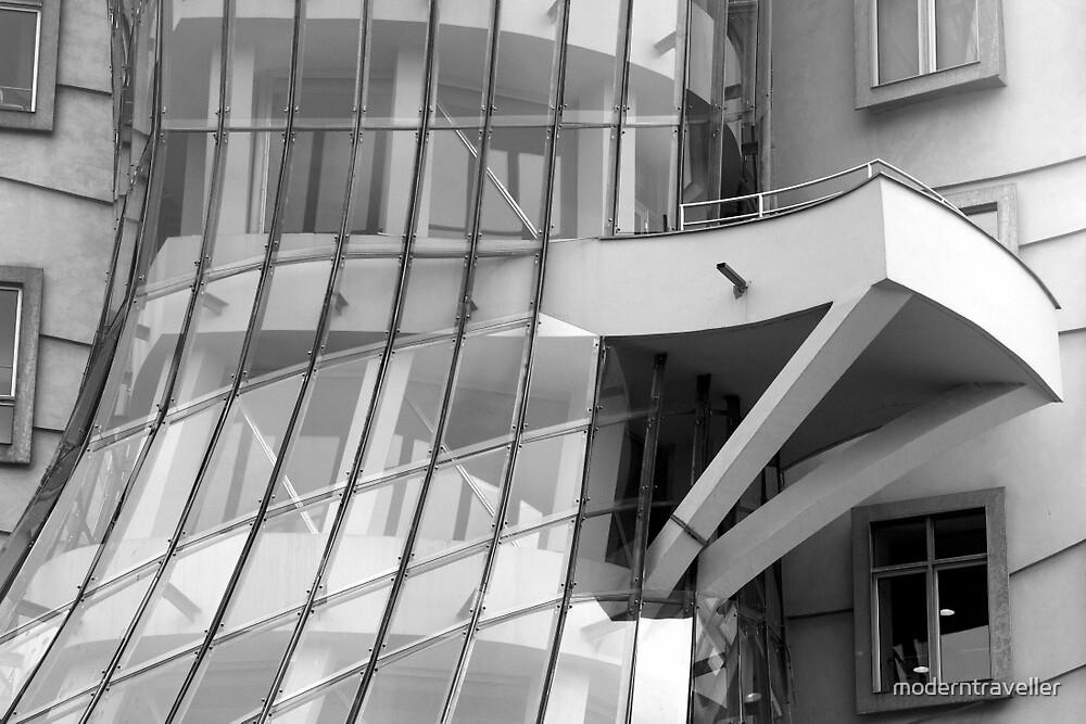 Dancing building in Monochrome by moderntraveller