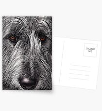 Wolfhound Postcards