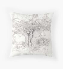 The Old Stricken Elder Throw Pillow