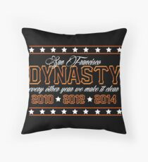 SF Dynasty Throw Pillow