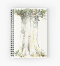 Lombardy Poplar Tree Spiral Notebook