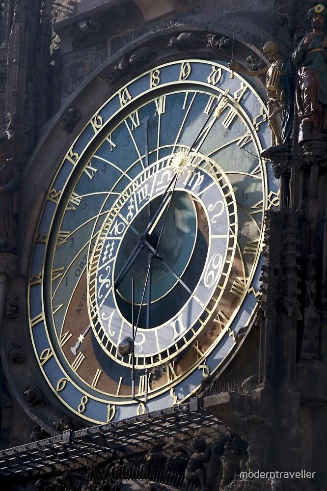 Prague's astrological clock by moderntraveller