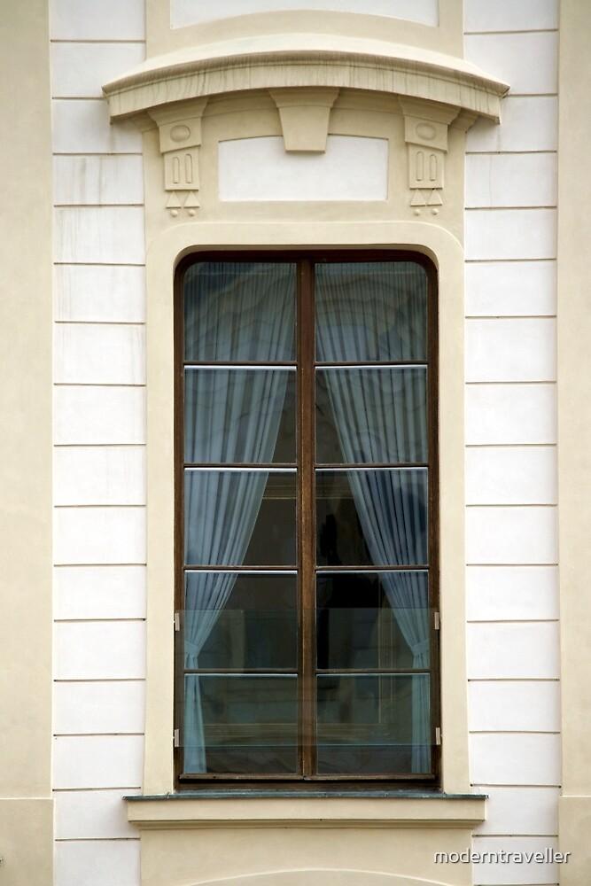 A simple window, Prague by moderntraveller