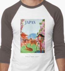 Vintage Japan Temple Travel Poster T-Shirt