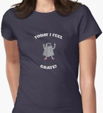 Feel Grate! Womens Fitted T-Shirt