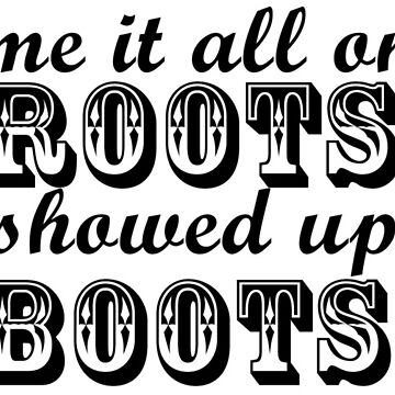 Blame It All On My Roots Sticker by colorfulmoniker
