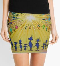 the grinch new 2016 dav nan DN 10 Mini Skirt