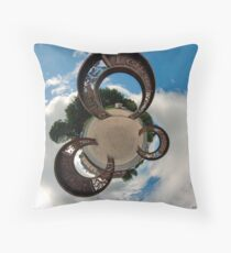 Lifford Coins, County Donegal Throw Pillow