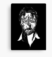 walking dead Canvas Print