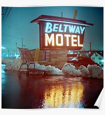 Evening at the Beltway Motel Poster