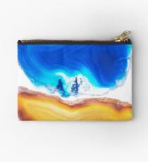 Gemstones in blue and yellow Studio Pouch