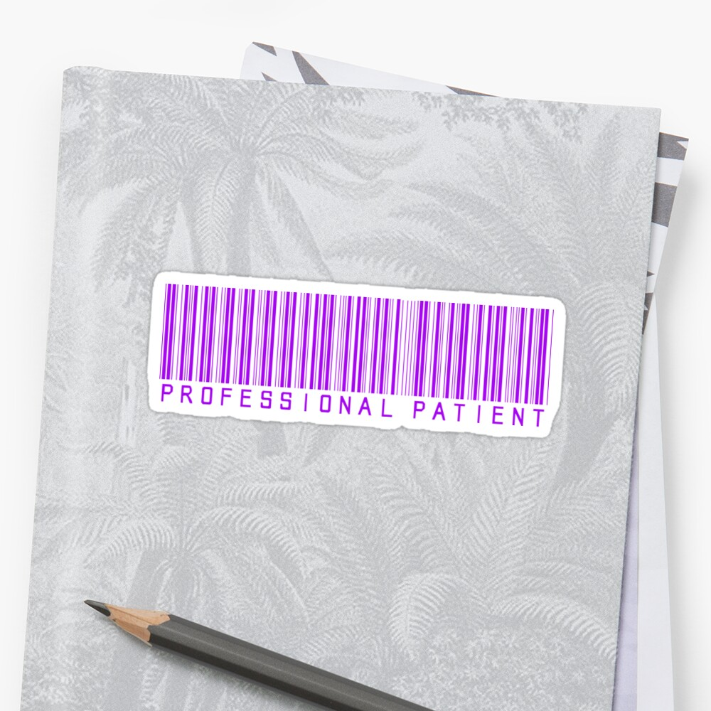 Professional Patient - Purple by Nisa Katz