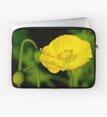Yellow Poppy, One Tree Hill Laptop Sleeve
