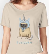 Pugicorn - Fawn Women's Relaxed Fit T-Shirt