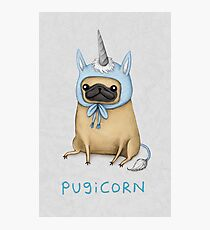 Pugicorn - Fawn Photographic Print