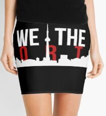 Raptors We The North Toronto Skyline Mini Skirt