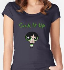 Suck It Up Buttercup PPG Women's Fitted Scoop T-Shirt