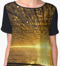 Golden dawn - digitally generated image Women's Chiffon Top