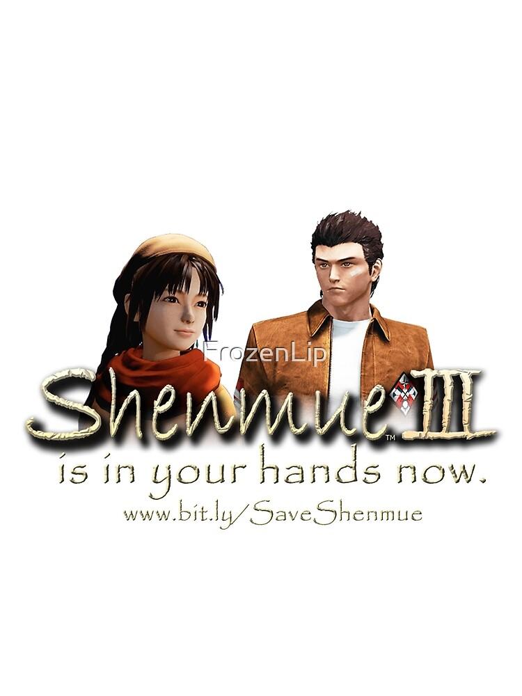 Shenmue 3 - Kickstarter by FrozenLip