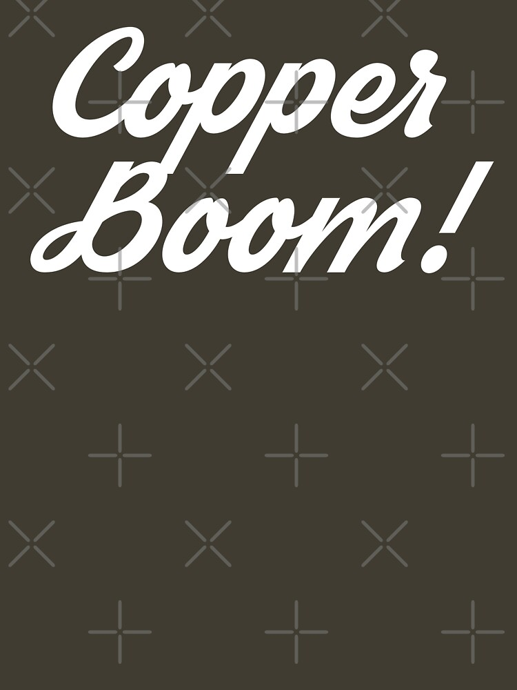 Copper Boom shirt  by fandemonium