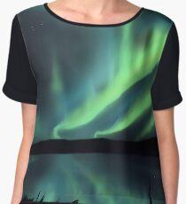 Northern Lights (aurora borealis) Chiffon Top