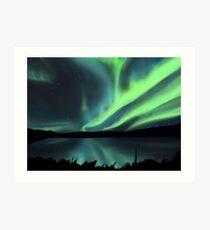 Northern Lights (aurora borealis) Art Print