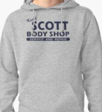 Keith Scott Body Shop Hoodie – One Tree Hill, Lucas Scott Pullover Hoodie