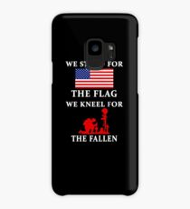 We Stand For The Flag We Kneel For The Fallen Case/Skin for Samsung Galaxy