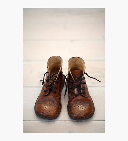 Baby Brogue Boots Photographic Print
